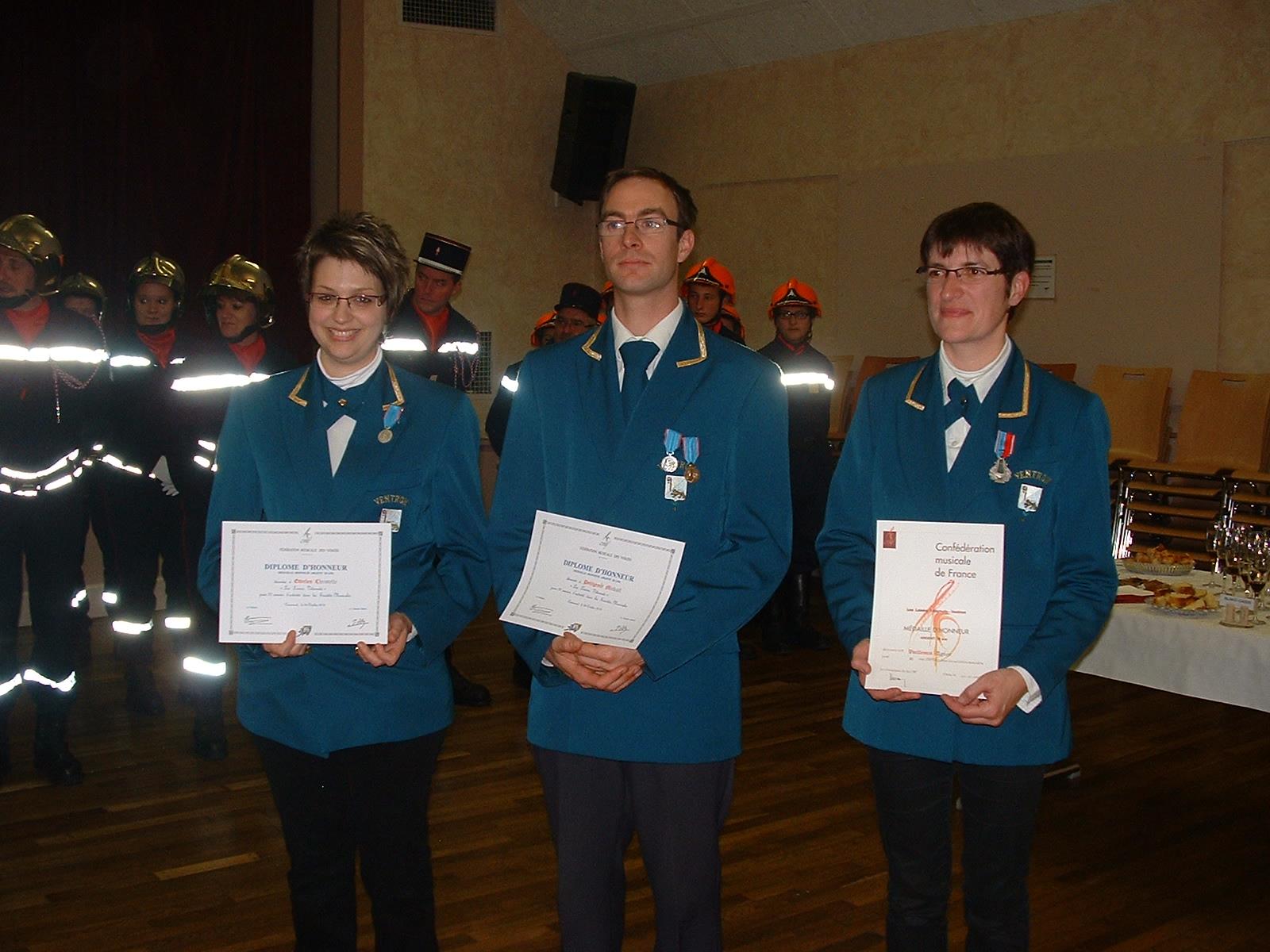 Ste Cécile medailles-2012