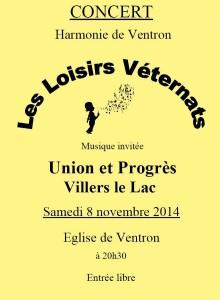 affiche noir blanc 8 novembre 2014